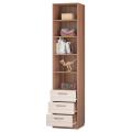 Шкаф для книг с 3-мя ящ. и дв. (Детская Вояж) наполнение