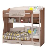 Кровать двухъярусная (Детская Вояж)