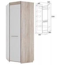 Шкаф угловой (спальня Лагуна 6)