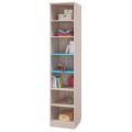 Шкаф для книг с 2-мя дверками (Детская Джимми) наполнение