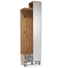 Вешалка с зеркалом (600) Колибри (SV)