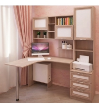 Компьютерный стол №12 комп. №1 Остин (СКА)