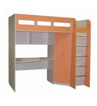 Кровать КДЧ-13 (Апельсин) (80х200)