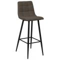 Барный стул UDC 8078 Рогожка-коричневый