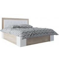 Кровать (Спальня Лагуна 6) (140х200)