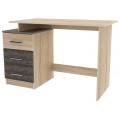 Компьютерный стол №8 (SV) Дуб сонома / Сосна джексон
