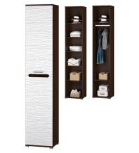 Шкаф 1 дверн. для платья и белья (Прихожая Мишель)