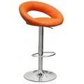 Барный стул Barneo N-84 Mira оранжевый