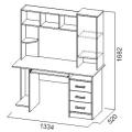 Компьютерный стол №6 (SV) схема