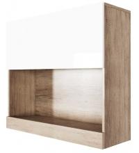 Шкаф навесной (гориз. 800) Ницца (SV)