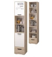 Шкаф для книг с 1ящ и 2дв (Джуниор)