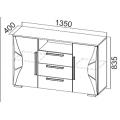Комод (спальня Лагуна 5) схема