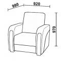 Кресло Нео 54 (КР) схема