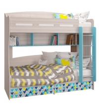 Кровать двухъярусная (Детская Джимми)