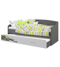 Кровать-софа выдвижная (Граффити) (80х200)