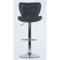 Барный стул Barneo N-30 First серый спереди