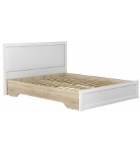 Кровать КР-43 с основ. + спинка мягкая (Ваша)