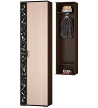 Шкаф для одежды с выдвижной штангой (Адажио)