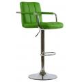 Барный стул BARNEO N-69 зеленый