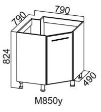 Стол М850у угловой под мойку
