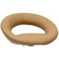 Полубарный стул BARNEO N-84 Mira для столешниц 75-95см Светло-коричневый