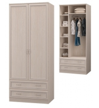 Шкаф для одежды с 2-мя дв., с 2-мя ящ. (Спальня Верона)