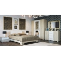 Спальня Лагуна 2 Дуб Сонома/Белый глянец