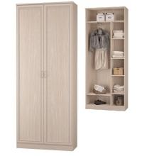 Шкаф для платья и белья  (Прихожая Верона)
