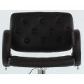 Полубарный стул BARNEO N-135 Gregor для столешниц 75-95см Темно-Коричневый