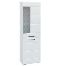 Шкаф АШКС600.1 Асти (белый глян. ДСВ)