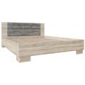 Кровать (Спальня Лагуна 2) (160х200) дуб сонома/сосна джексон