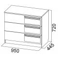 Комод (спальня ЭДМ 2) схема