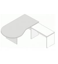 Приставка к столу Л.П-12
