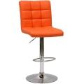 Барный стул N-48H Kruger оранжевый