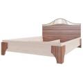 Кровать (Спальня Лагуна 5) (140х200) Ясень шимо темный / ясень шимо светлый