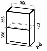 Шкаф Ш500б (Blum Aventos HF)/720