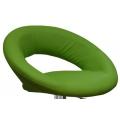 Полубарный стул BARNEO N-84 Mira для столешниц 75-95см Зеленый