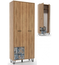 Шкаф двухстворчатый с ящиками Колибри (SV)
