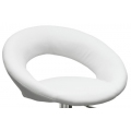 Полубарный стул BARNEO N-84 Mira для столешниц 75-95см Белый