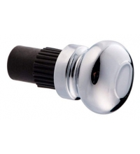 Заглушка рейлинга модерн хром Т2806 R (SV)