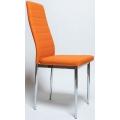 Стул Cafe 1 (f261) хром, Оранжевый
