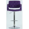 Барный стул BARNEO N-135 Gregor Фиолетовый