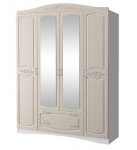 Шкаф 4-х дв. с зеркалом Виола-2