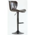 Барный стул BARNEO N-87 Коричневый блестящий