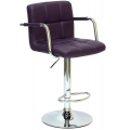 Барный стул BARNEO N-69 фиолетовый