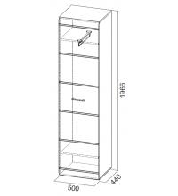 Шкаф универ. 1966 (Прихожая мод. система №1 SV)