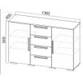 Комод (спальня Лагуна 2) схема