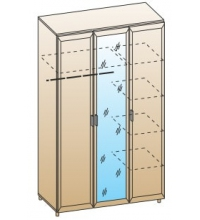 Шкаф ШК-1801 (С зеркалом)