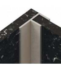 Планка угловая F для стеновой панели (6 мм) (SV)