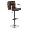 Барный стул BARNEO N-69 темно коричневый
